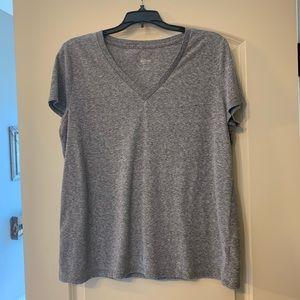 Mossimo Heather Gray T-Shirt XL